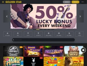 Golden Star Casino Screenshot #1
