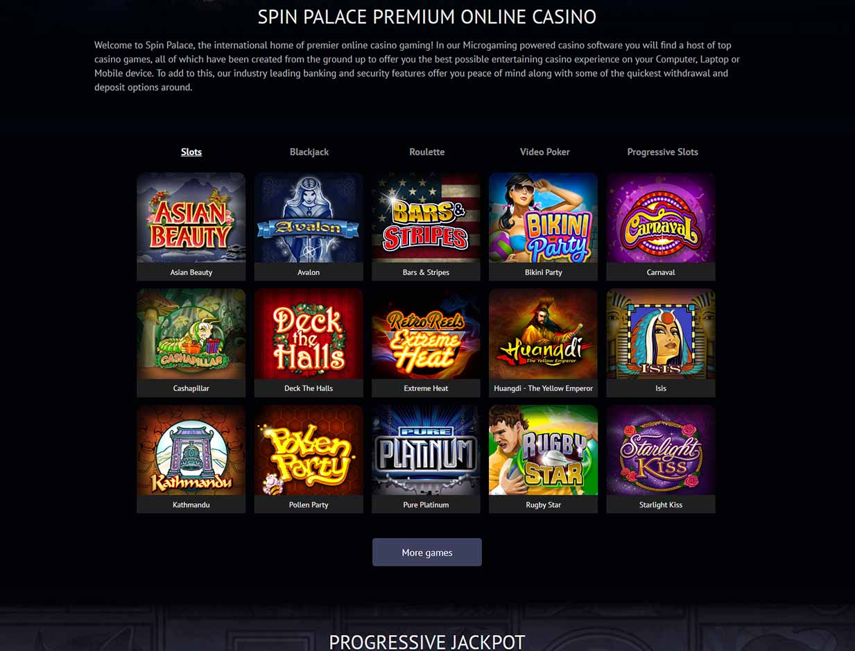 Spin palace casino withdrawal time