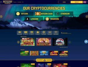 Konung Casino Screenshot 1